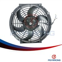 Wholesale PQY STORE Inch Universal V W Slim Reversible Electric Radiator AUTO FAN Push Pull With mounting kit Type S quot PQY FAN10