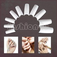 Wholesale Nail tools EQ0001 Nail Art French False Acrylic Artificial Tips White