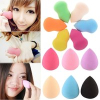 Wholesale 1pc Makeup Foundation Sponge Blender Blending Makeup Cosmetic Puff Flawless Powder Smooth Beauty Make Up Tool