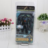 Wholesale 20CM EMS NECA Pacific Rim Jaeger Gipsy Danger PVC Hot Action Figures Collectible Model Toy