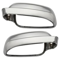 Wholesale Pair Wing Rearview Mirror Cover Housing Case Casing Cap For VW Golf Mk4 Bora J2