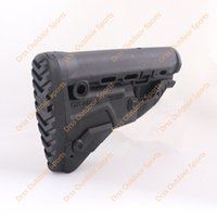 ak stock - Drss FAB Defense GK MAG Survival ButtStock W Built IN MAG Carrier Stock For AK Magazine Black A