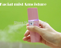 mini spray - Portable Mini rechargeable nano face steamer facial mist spray face humidifier gift for women