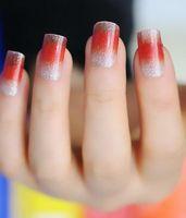 Wholesale Nail art nail foils gradient color nail wrap nail foil shinning nail stickers nail accessories nail art styles
