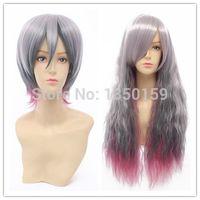 Wholesale The original Harajuku Japanese fashion purple gradient lolita cosplay wig