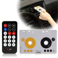 acura dash kits - car dvd Car Telecontrol Tape Cassette MMC MP3 Player Adapter Kit With Remote Control Hot Arrival