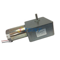 Wholesale Low Speed High torque V RPM DC Worm Geared Motor Electrc gear reducer by tsinymotor