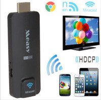 Wholesale Measy A2W HDMI TV Receiver Multi Media Wireless Display Miracast Dongle Stick Ezcast Airplay Chromecast for Android IOS Windows