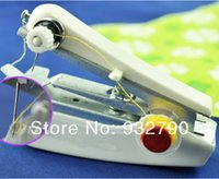 Wholesale New Mini Handy Portable Cordless Hand held Clothes Fabrics Sewing Machine Stitch Craft Home Travel Women Girls Use order lt no track