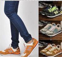 Wholesale Hot New Women Sneakers Breathable Leopard Women Shoes Size