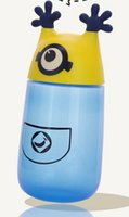 Wholesale minions water bottle despicable me cup for kids styles include baymax Doraemon cartoon children s cup
