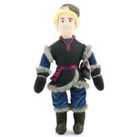 baby doll costumes - 50cm New Frozen Kristoff Plush Dolls Stuffed plush Soft Toys Baby Frozen plush Toy EMS