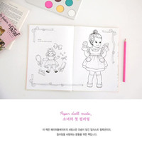 Wholesale 2015 Magic Best Selling cm Cute Girl Nice Pictures Creative Coloring Book