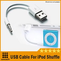 Wholesale High Quality Charge Cable For iPod Shuffle Data Lines Charging USB Data