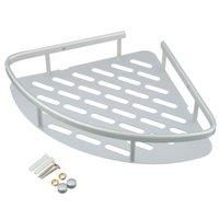 aluminum shower caddy - High Quality Aluminum Shower Wall Mount Corner Shelf Holder Bathroom Storage Caddy Organizer