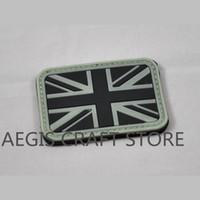 bag english flag - English flag pvc badges custom Support LOGO custom high quality PVC military badge clothes bags decoration patch repair