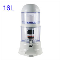 Wholesale 16L Desktop mineral pot water purifier table water filter Ceramic filter multual filter water pot dispenser