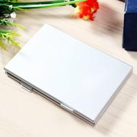 Wholesale Slots Aluminum SD SDHC MMC Memory Card Storage Box Protecter Case hold x SD