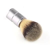 shaving badger silver - Men s Badger hair Shaving Brush Silvertip Stainless Metal Handle Barber Tool