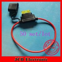 Wholesale sets small medium blade car blade fuse socket waterproof auto Fuse Holder