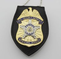 Wholesale The United States Secret Service Badge USSS presidential bodyguard badge multifunctional clip