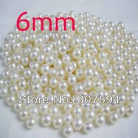 Wholesale 2000PCs Size mm Ivory Color Round Imitation pearl Beads Loose Beads for fashion Jewelry Making DIY