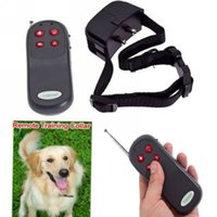 Wholesale 4 IN Electric Shock Infrared Ray Dog Training Device Pet Trainer Dog Stop Barking Collar