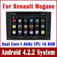 renault megane 2 - Android Head Unit Car DVD Player GPS Navigation for Renault Megane with Radio BT TV USB SD Audio G WIFI