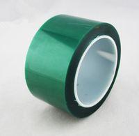 Wholesale 50mm x m Heat resistant PET Green Masking Tape film Shielding High Temperature Resistant Tape