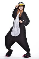 adult penguin costumes - Lovely Penguin Kigurumi Pajamas Animal Suits Cosplay Outfit Halloween Costume Adult Garment Cartoon Jumpsuits Unisex Cheap Animal Sleepwear