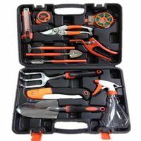 aluminum knife case - Economic Aluminum Alloy Garden Hand Tools Set Gardening Shovel Spade Pruning Knife Rake Trowel Cutter Plant Carrying Case