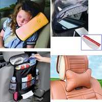baby neck rest - Useful Auto Safety Seat Belt for Children Kids Baby Protection Soft Shoulder Cover Cushion Head Neck Rest Pillow Car Seat Cover