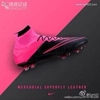 best of best - Nike Mercurial Superfly FG Mens Soccer Boots Cleats Nike best selection of soccer cleats Mens Soccer Shoes High Cut Original Pink Black