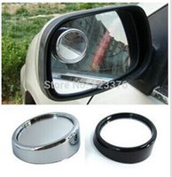 Wholesale DHL Freeshipping Wide Angle Round Convex Car Vehicle Mirror Blind Spot Rear View Messaging
