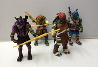 Wholesale TMNT Teenage Mutant Ninja Turtles PVC Action Figure Collection Model Toys Classic Toys Christmas Gift New arrival