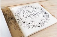 Wholesale 2015 Secret Garden An Inky Treasure Hunt and Coloring Book Adult Children Relax Magic Graffiti Painting Book DHL