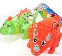 Wholesale Novelty toys wind up cute kids cartoon toys cheap Children s toy dinosaur clockwork dinosaur crawling climb chain Shake head a dinosaur