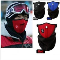 Wholesale Cold protection Neck Warm Half Face Mask Winter Veil For cycling Motorcycle Ski Snowboard Bicycle Face Mask for outdoor