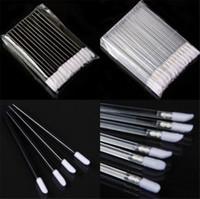 hair gloss - High Quality Disposable Lip brush Lip Gloss Brush Wands Lipstick Gloss Applicators Makeup Tools