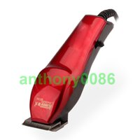 Wholesale professional red household salon men electric hair clipper barber tool