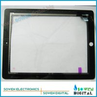 Wholesale original Touch screen for ipad touchscreen Digitizer Touch panel Original white or black gurantee
