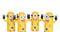 best toothpaste - Best Seller In Stock Cute Despicable Me Minions Design Set Cartoon Toothbrush Holder Automatic Toothpaste Dispenser with Brush Cup gift