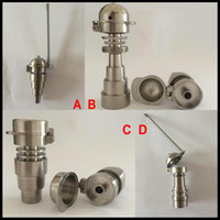 Wholesale mm mm mm in in infinity titanium nail with male and female joint with gentalman baseball carb cap and dabber