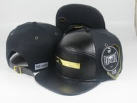 Wholesale Melin Snapbacks Strapbacks The Bar Snapback Black Brand Man Hat Woman Cap Adjustable Hip Hop Hats Caps
