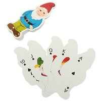 Wholesale Christmas Entertainment Gift Sheet Santa Claus Paper Standard Poker Playing Cards Creative Game Toys Party Recreational Prop