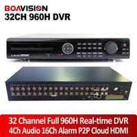 Wholesale 32 Channel H Real time Full H Standalone DVR P2P Cloud Network HDMI P CH DVR Recorder Ch Audio Ch Alarm Input Phone View