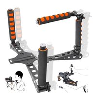 aluminum angle brackets - Lightweight Changeable Multi angle DSLR Camera Shoulder Support Pad Bracket For Section Blackmagic Canon Nikon LUMIX SONY Camera