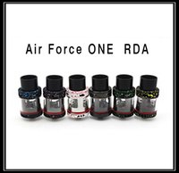 air force ring - Air Force One RDA Made By Madao Authentic Rebuildable Dripping Atomizer With Bore Drip Tips Top AFC Ring Airflow Control Vaporizer Mods DHL