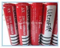 Wholesale High quality rechargeable batteries v mAh Lithium li ion battery for led Flashlight batteri batery