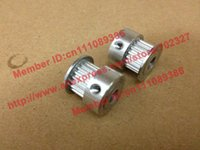 Wholesale 100pcs S2M timing pulley S2M BF Timing pulley Teeth Bore mm belt width mm